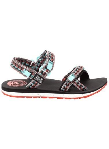 Jack Wolfskin Outfresh Sandal Kadın Sandalet - 4039461-6089 Renkli